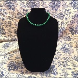 Gorgeous Green Adjustable Length Pearl Necklace